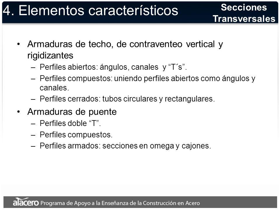 4. Elementos característicos