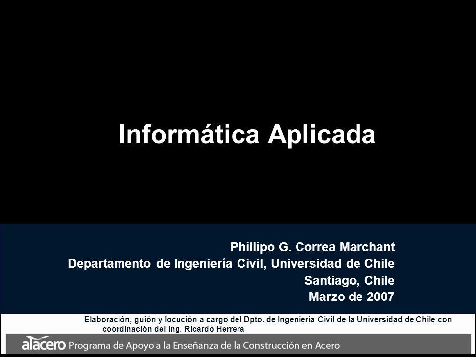 Informática Aplicada Phillipo G. Correa Marchant