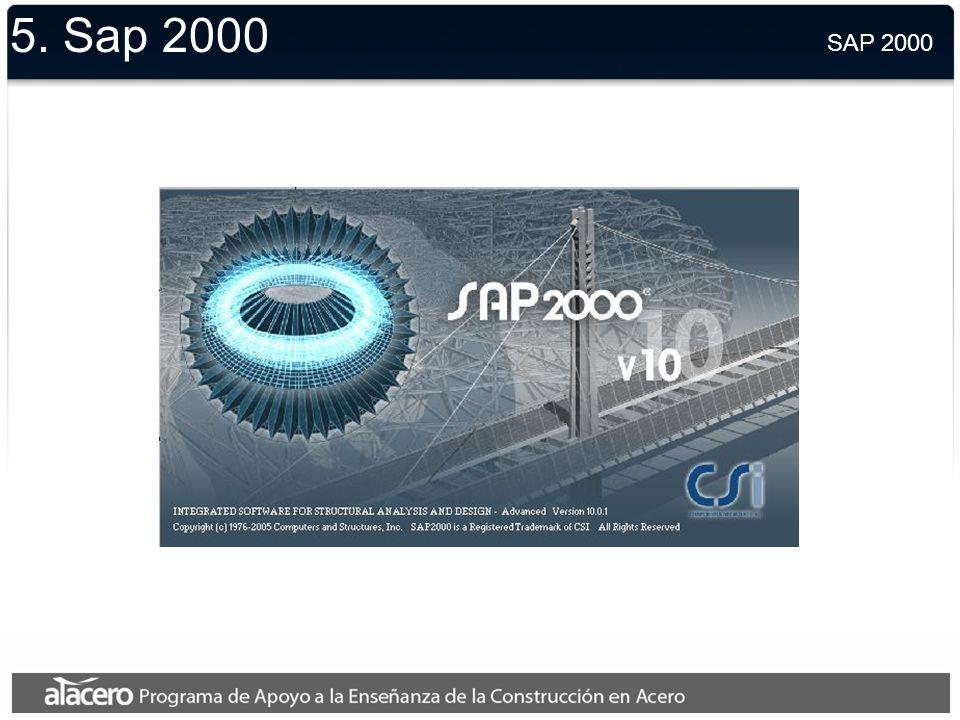 5. Sap 2000 SAP 2000.