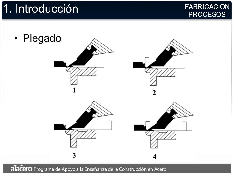 1. Introducción Plegado FABRICACION PROCESOS