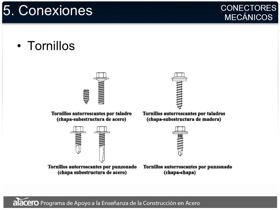 5. Conexiones Tornillos CONECTORES MECÁNICOS