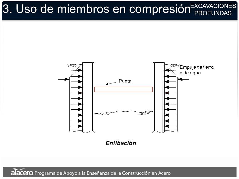 3. Uso de miembros en compresión