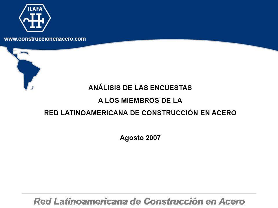 Red Latinoamericana de Construcción en Acero
