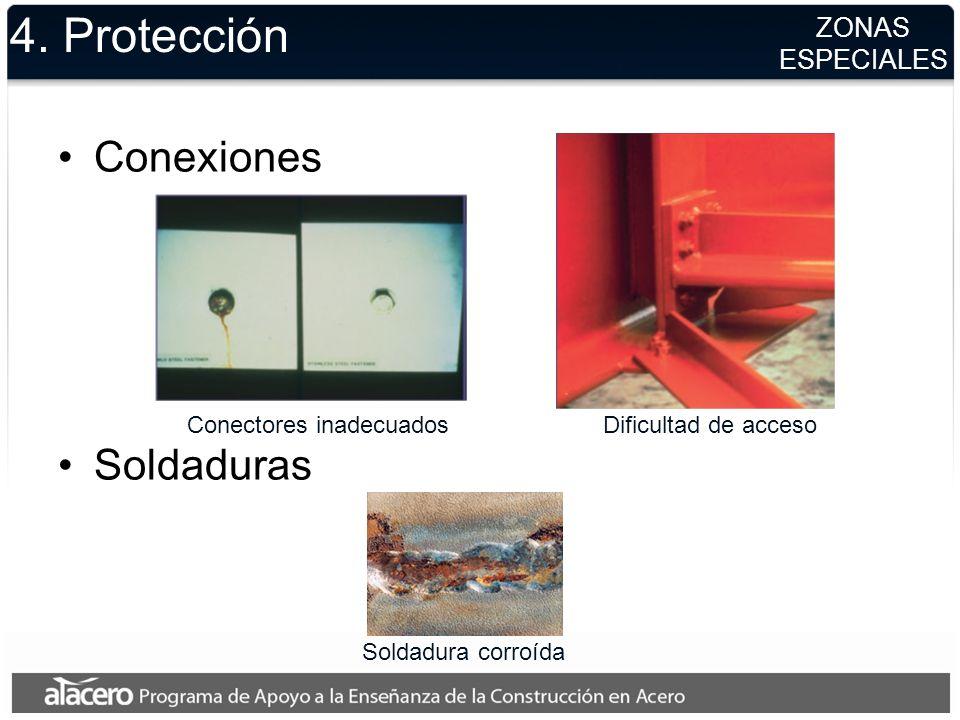4. Protección Conexiones Soldaduras ZONAS ESPECIALES