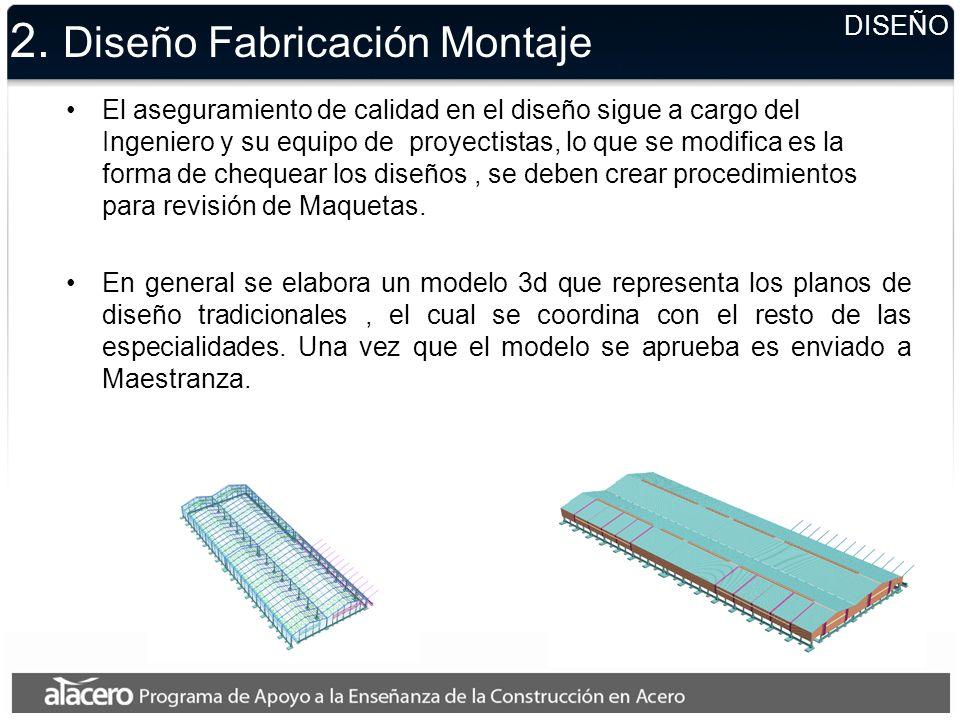 2. Diseño Fabricación Montaje