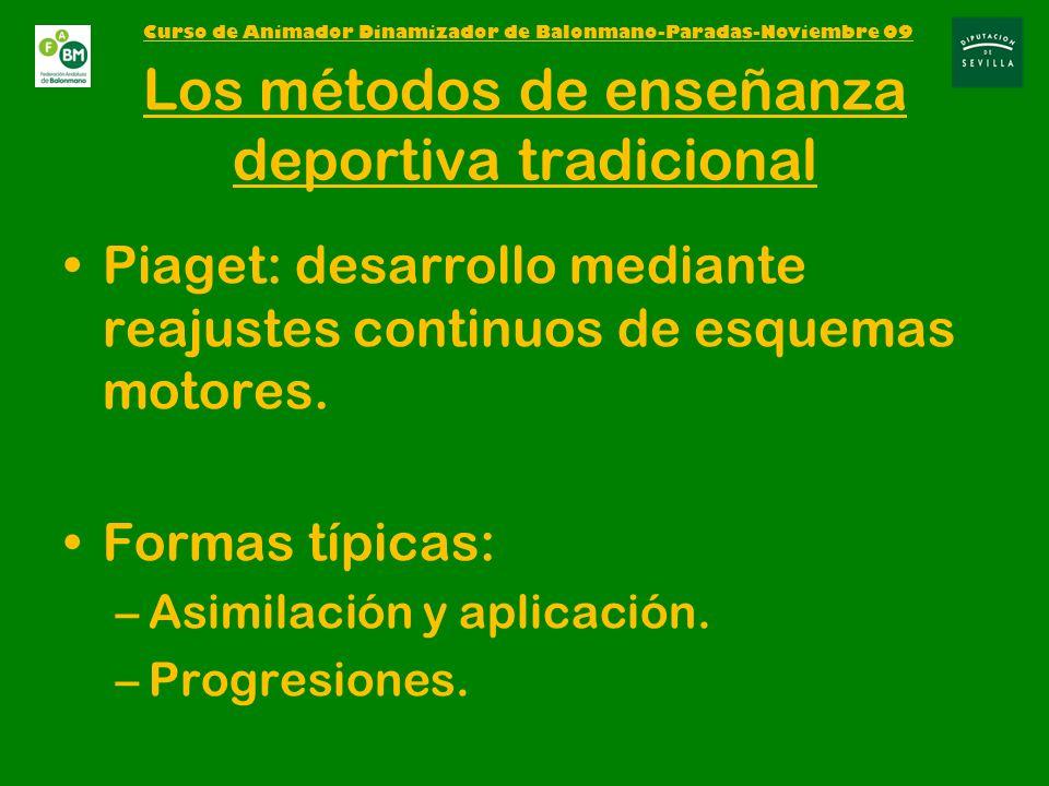 Los métodos de enseñanza deportiva tradicional
