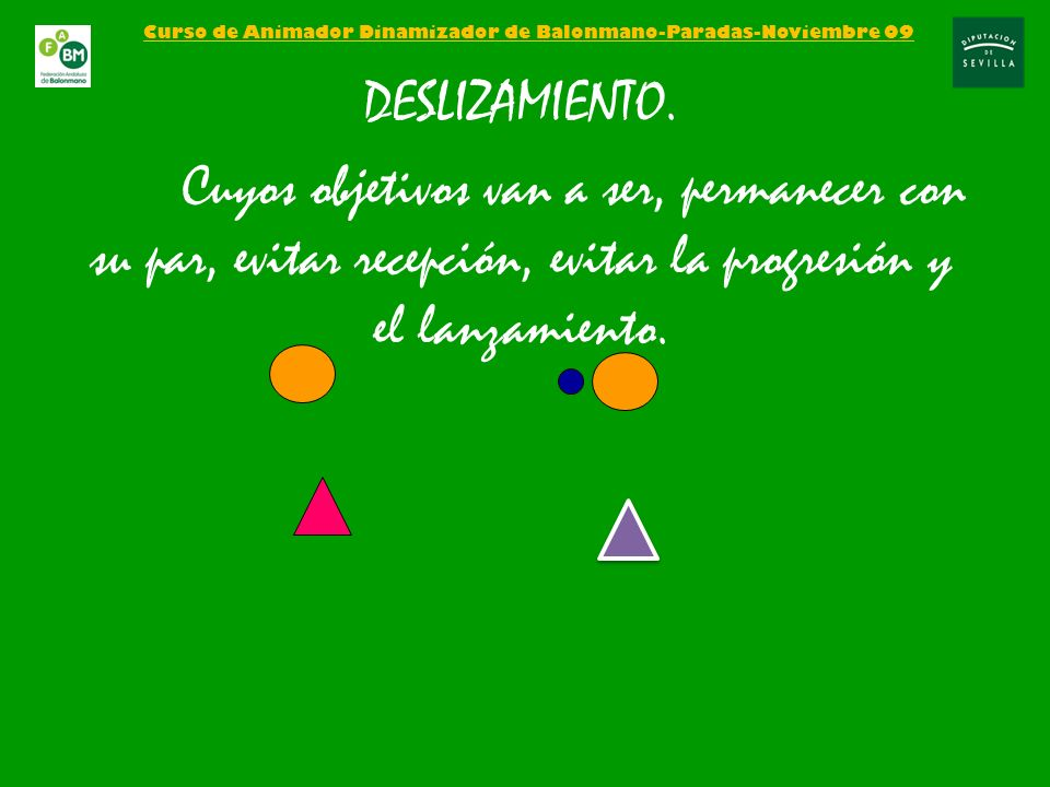 Curso de Animador Dinamizador de Balonmano-Paradas-Noviembre 09