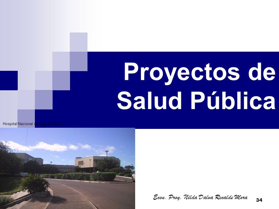 Proyectos de Salud Pública