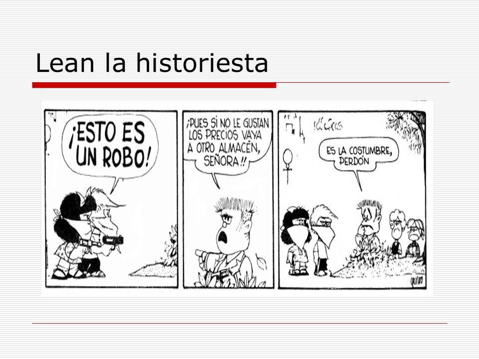 Lean la historiesta