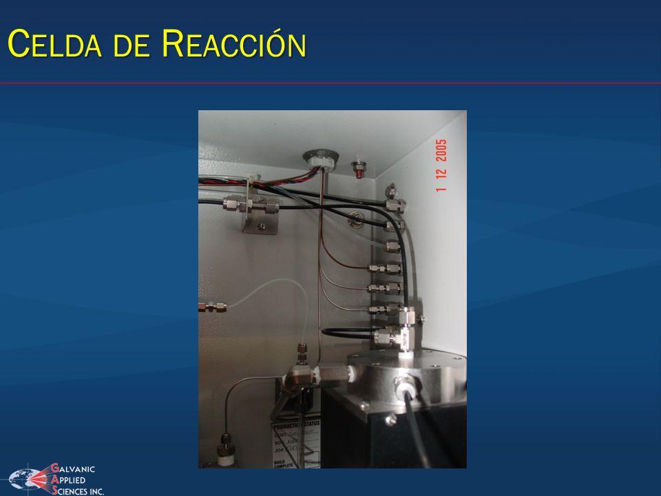 Celda de Reacción