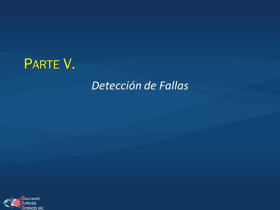 Parte V. Detección de Fallas