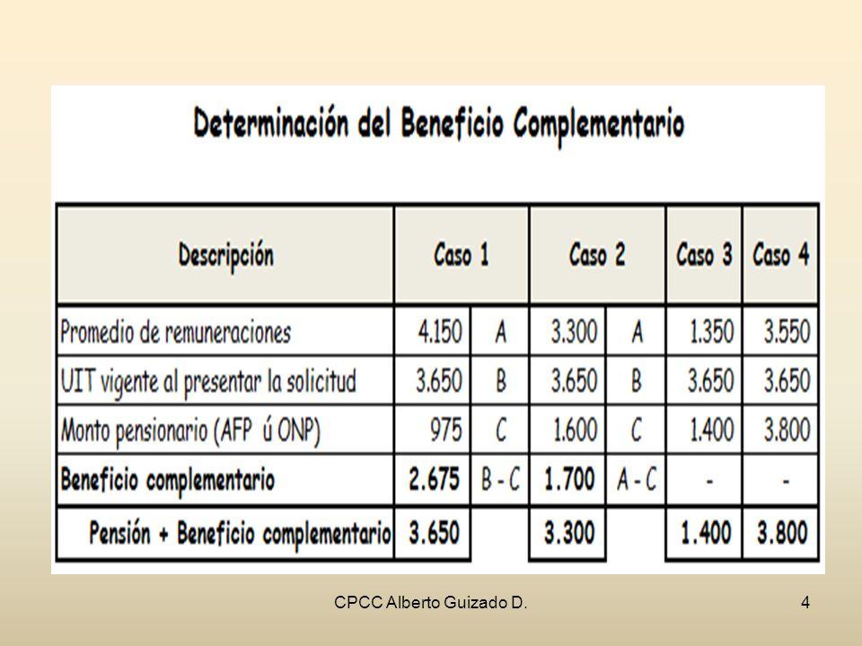 CPCC Alberto Guizado D.