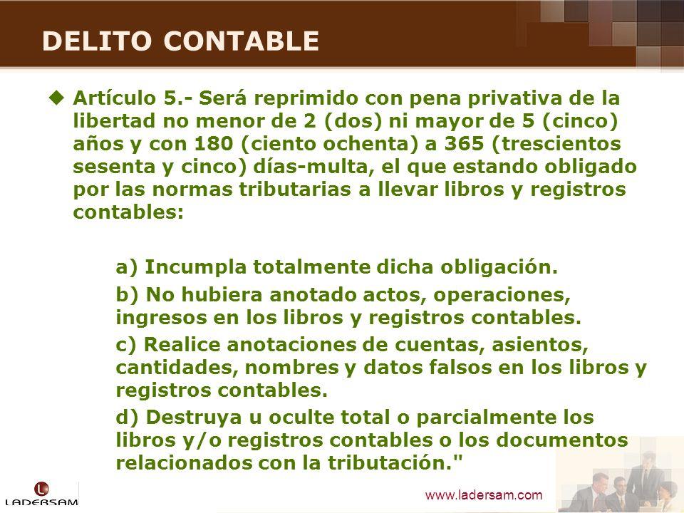 DELITO CONTABLE