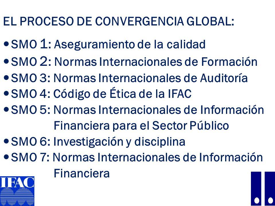 EL PROCESO DE CONVERGENCIA GLOBAL: