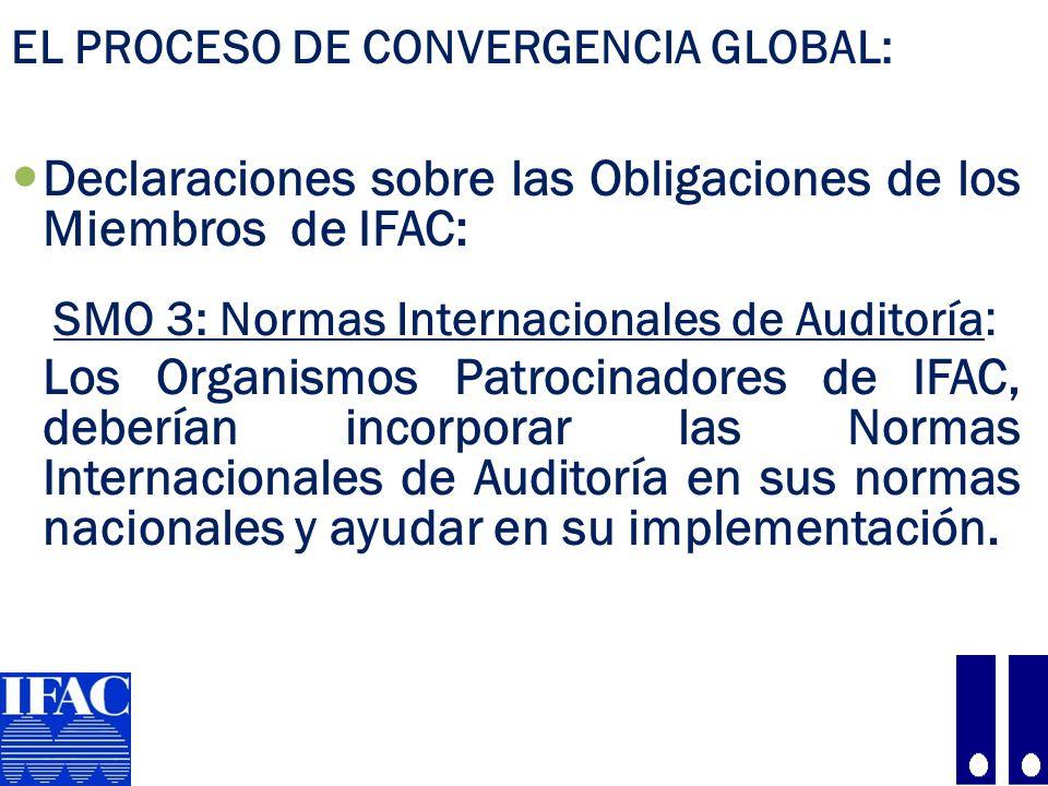 Declaraciones sobre las Obligaciones de los Miembros de IFAC:
