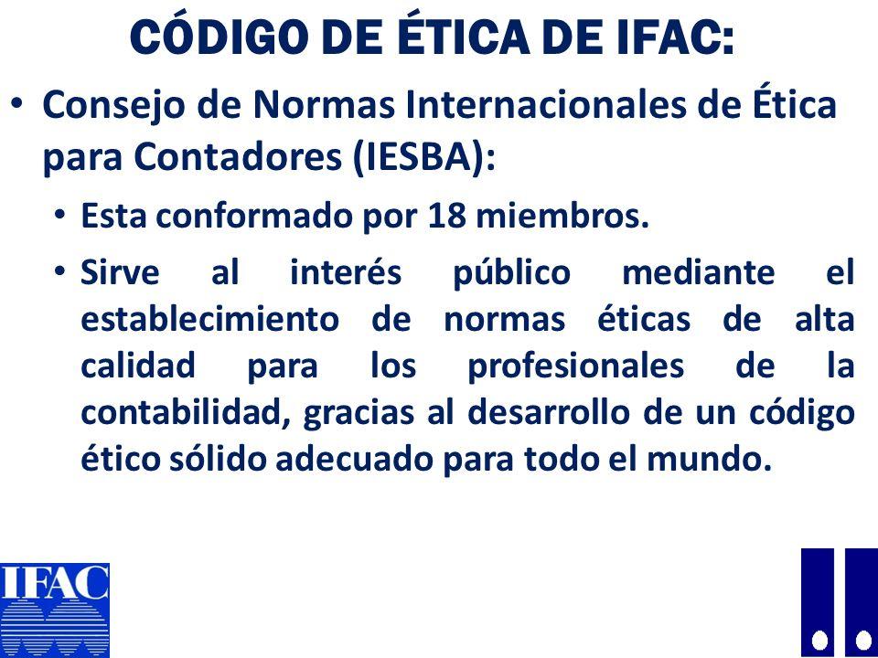 Código de Ética de IFAC: