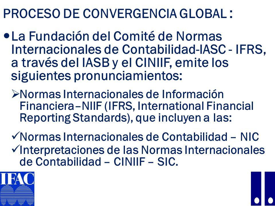Proceso de convergencia global :