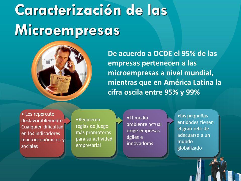 Caracterización de las Microempresas