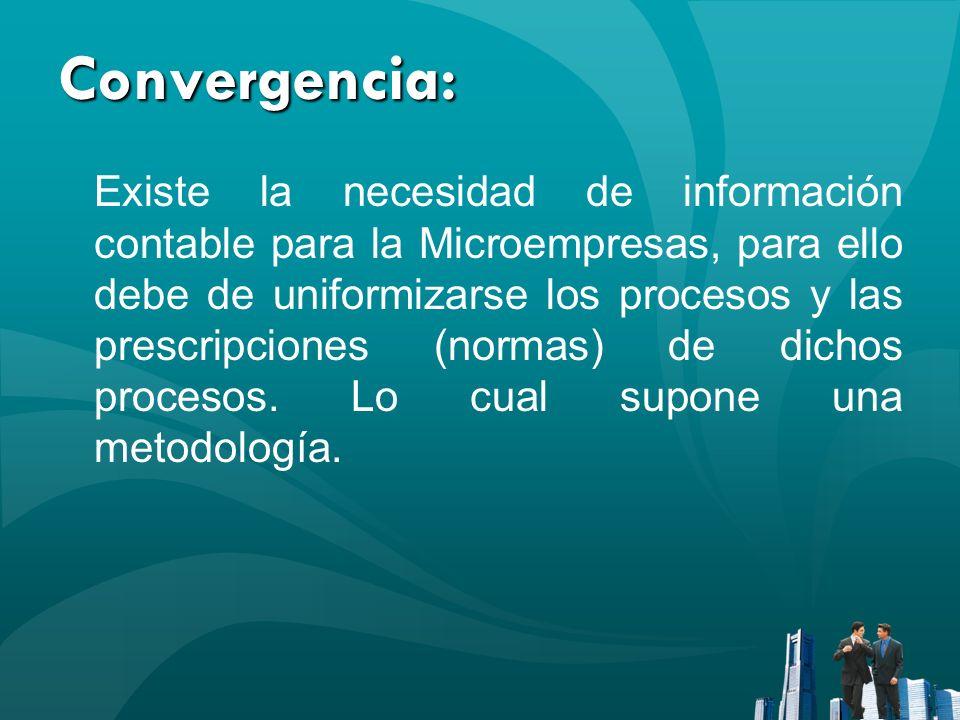 Convergencia: