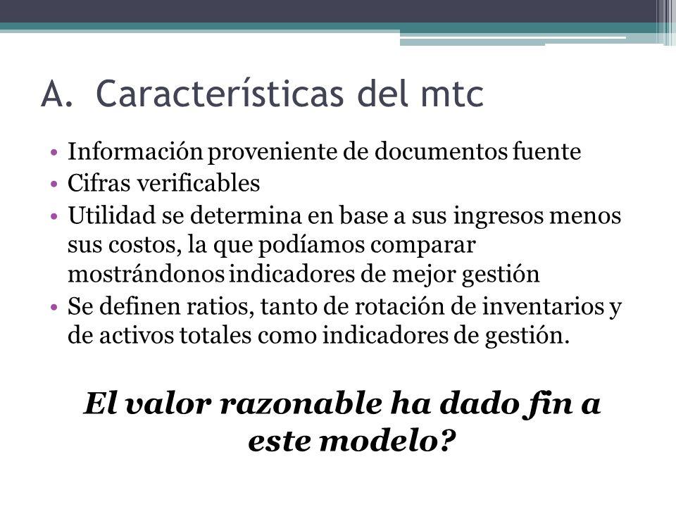 Características del mtc