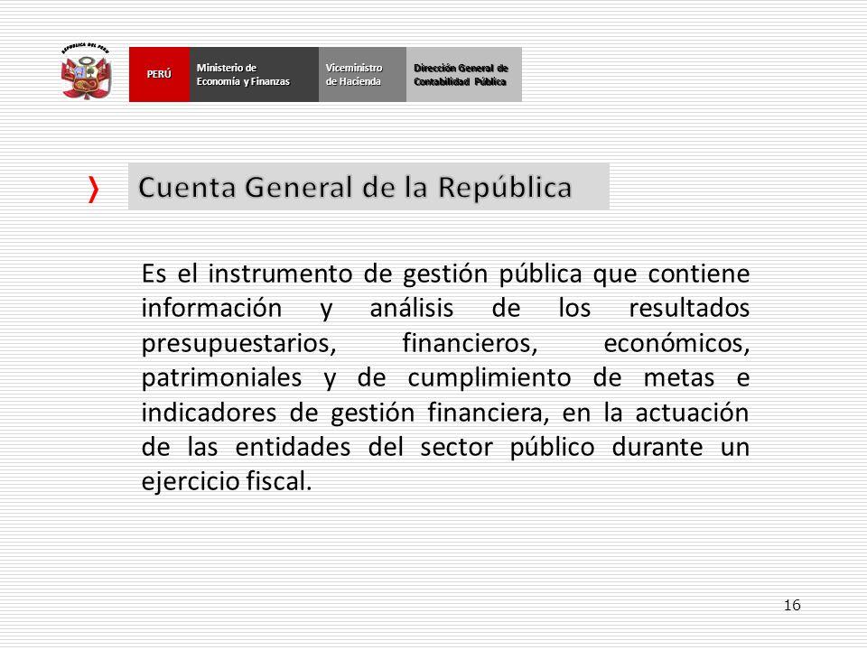 Cuenta General de la República