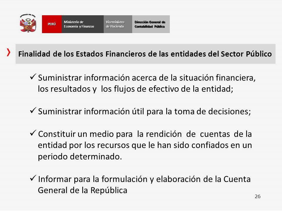 Suministrar información acerca de la situación financiera,