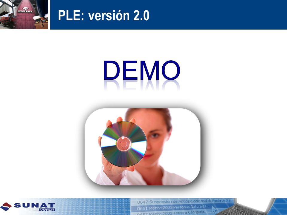 PLE: versión 2.0 DEMO
