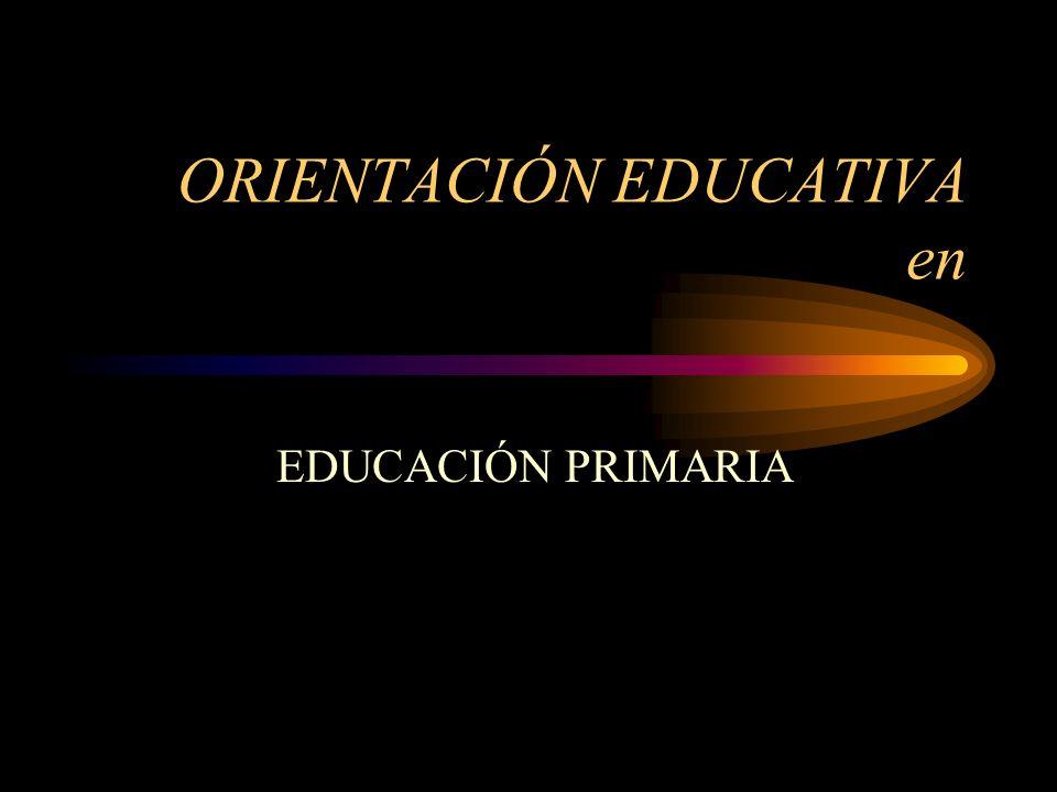 ORIENTACIÓN EDUCATIVA en