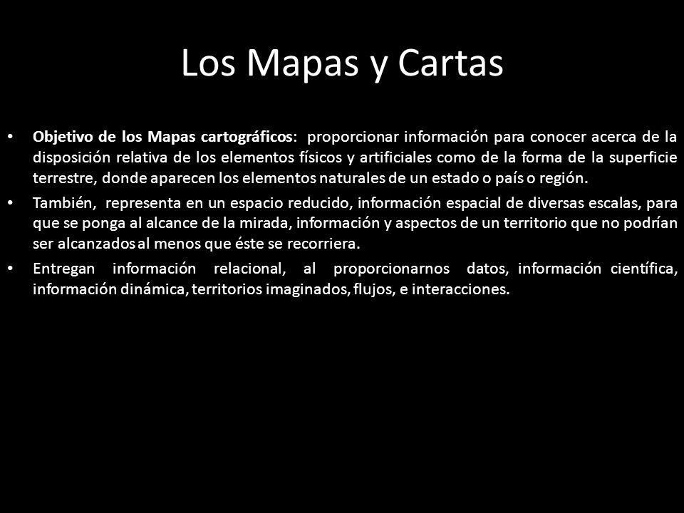 Los Mapas y Cartas