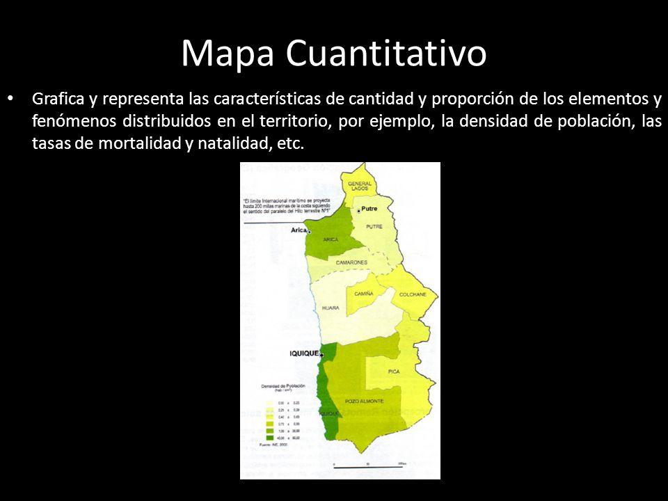 Mapa Cuantitativo