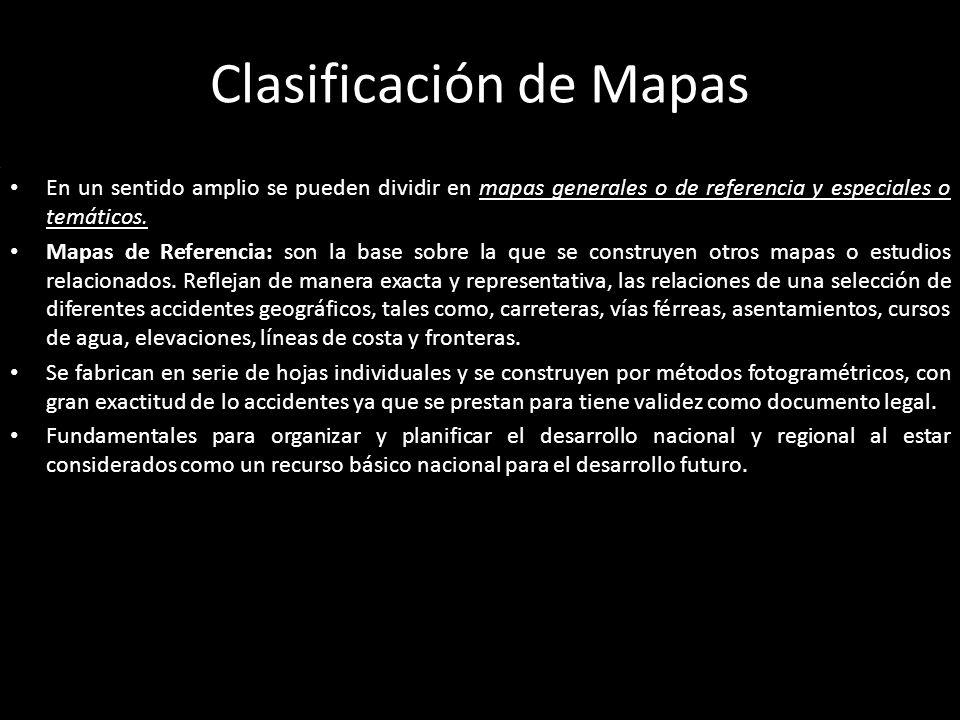 Clasificación de Mapas