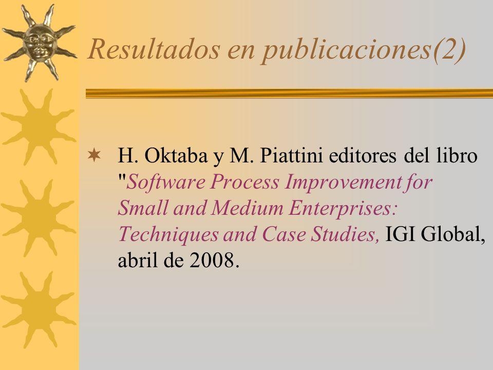 Resultados en publicaciones(2)