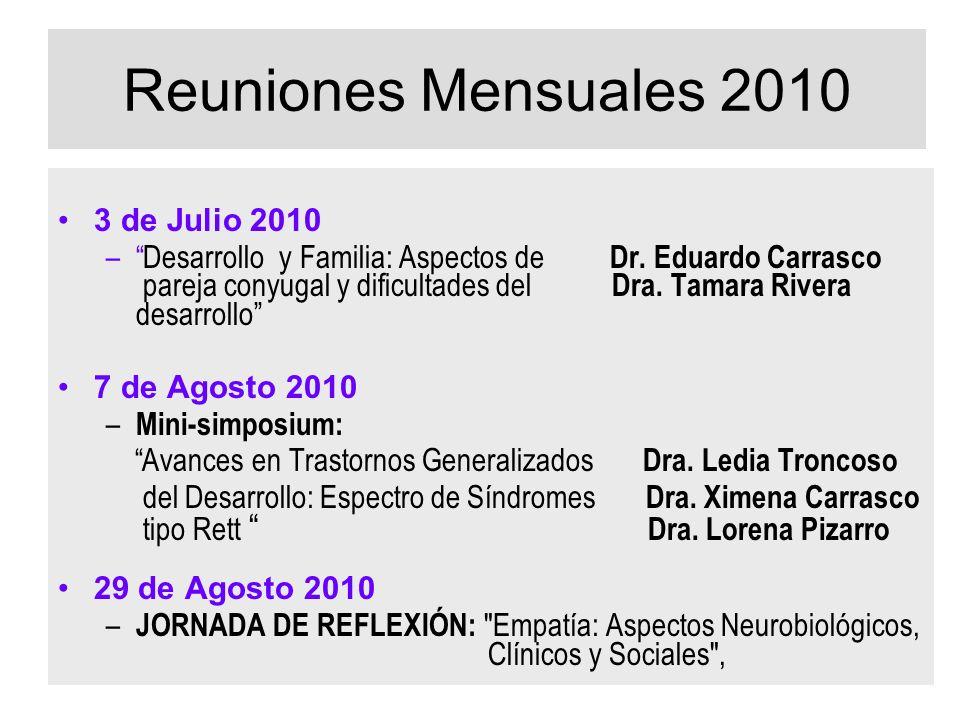 Reuniones Mensuales 2010 3 de Julio 2010