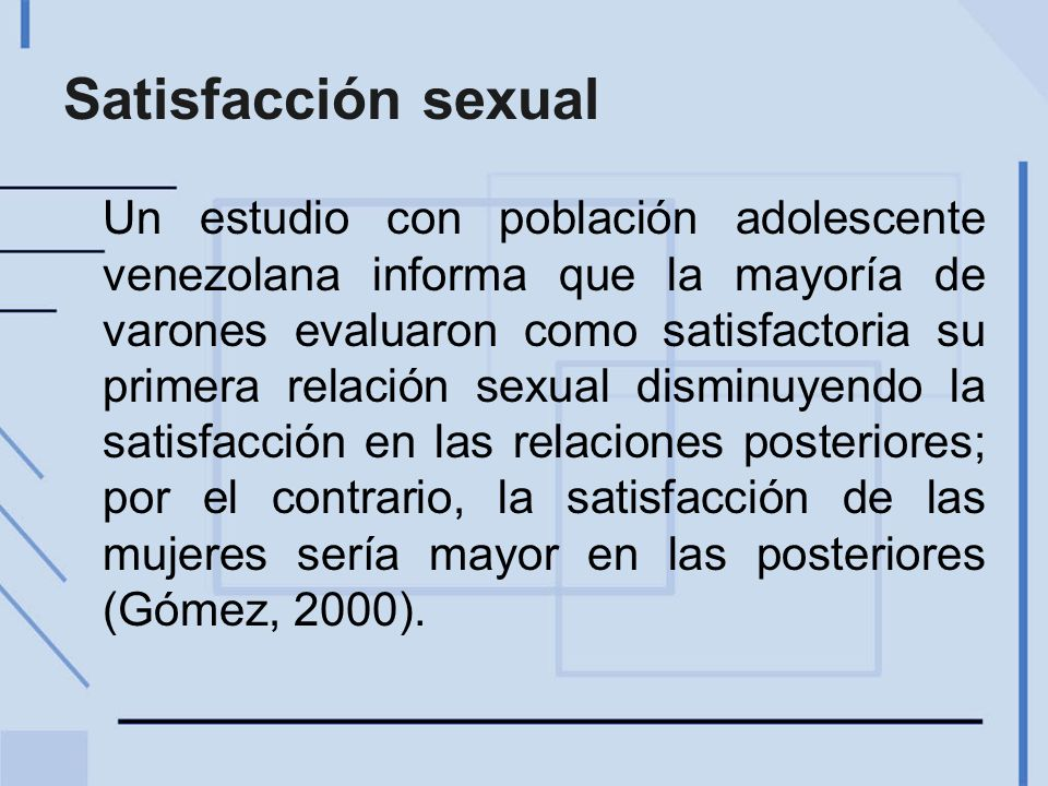 Satisfacción sexual