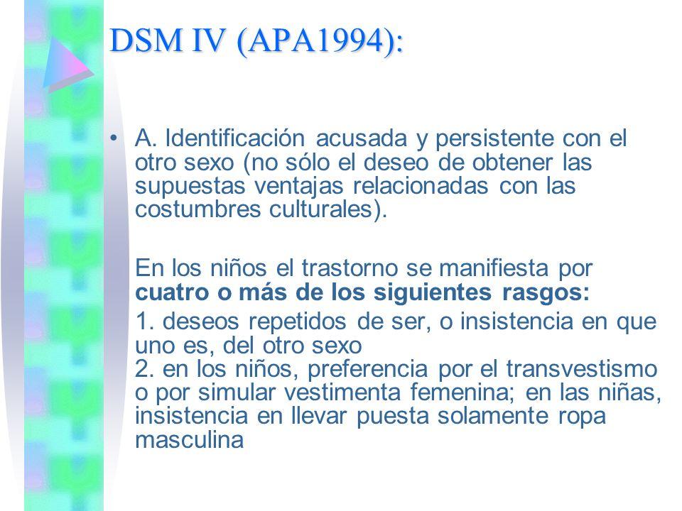 DSM IV (APA1994):