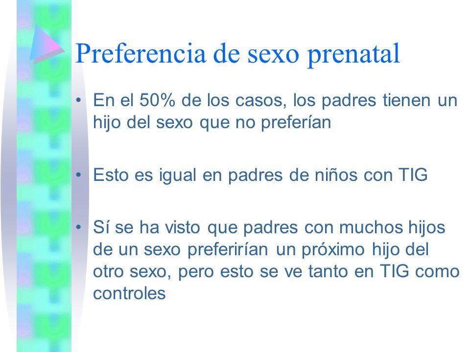 Preferencia de sexo prenatal