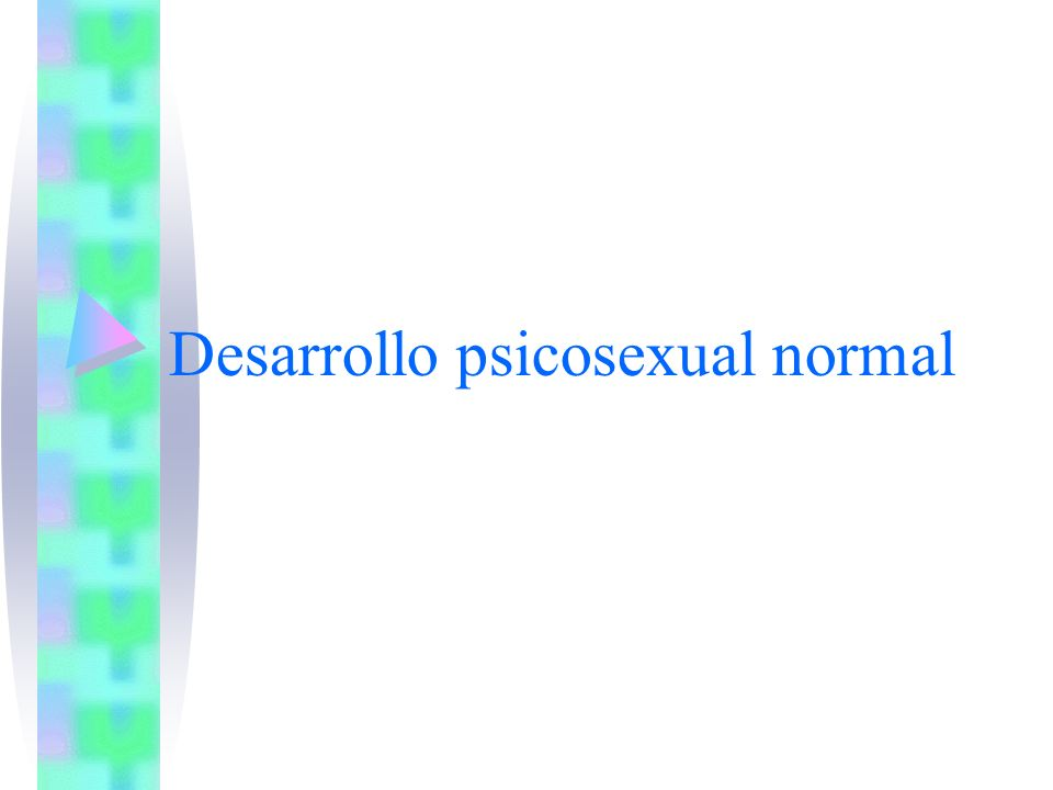 Desarrollo psicosexual normal