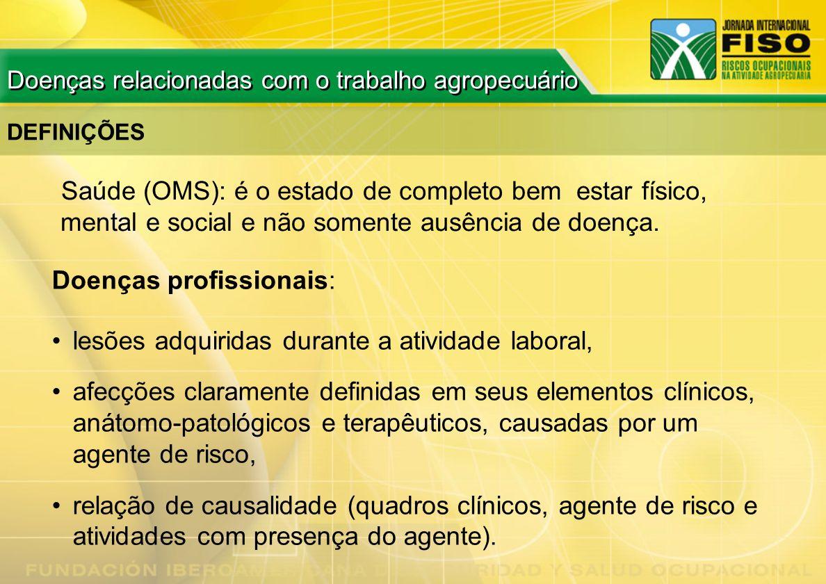 Doenças profissionais: lesões adquiridas durante a atividade laboral,
