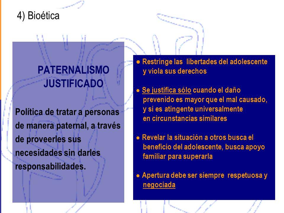 PATERNALISMO JUSTIFICADO