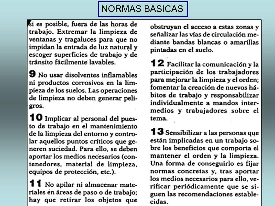 NORMAS BASICAS