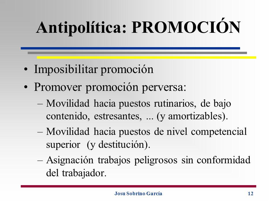 Antipolítica: PROMOCIÓN