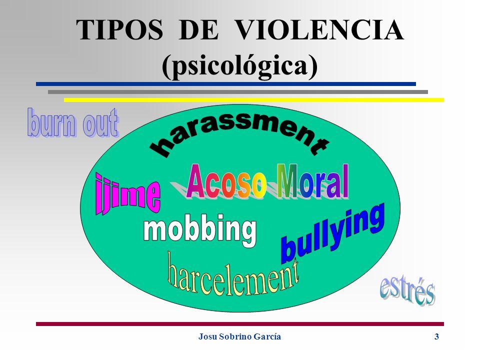 TIPOS DE VIOLENCIA (psicológica)