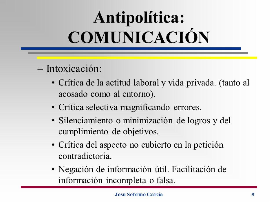Antipolítica: COMUNICACIÓN