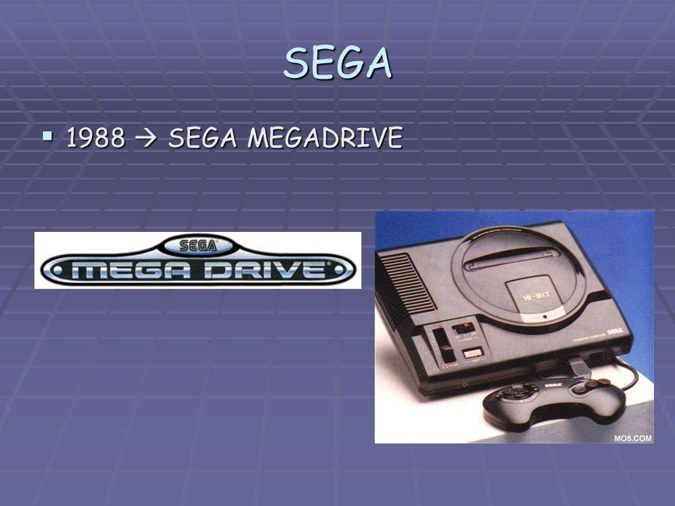 SEGA 1988  SEGA MEGADRIVE