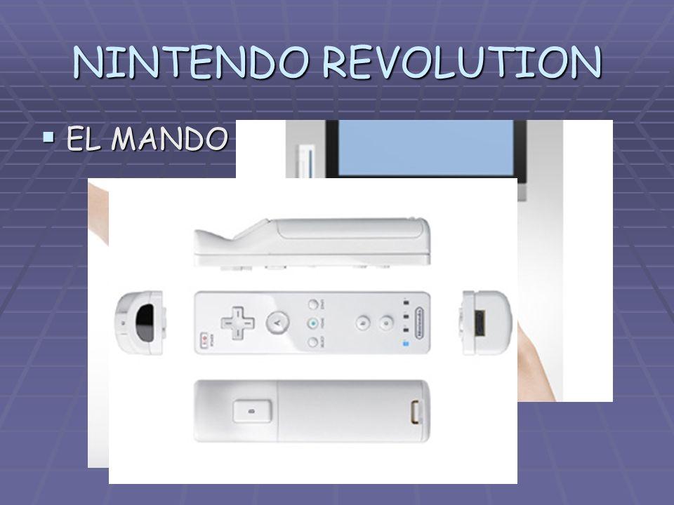 NINTENDO REVOLUTION EL MANDO