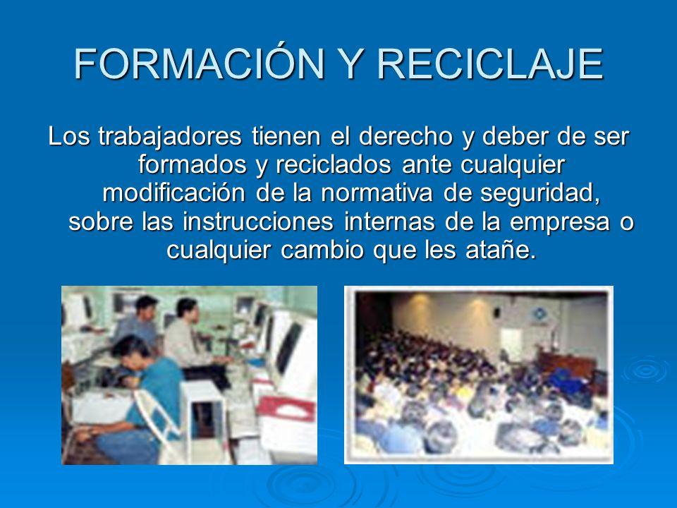 FORMACIÓN Y RECICLAJE
