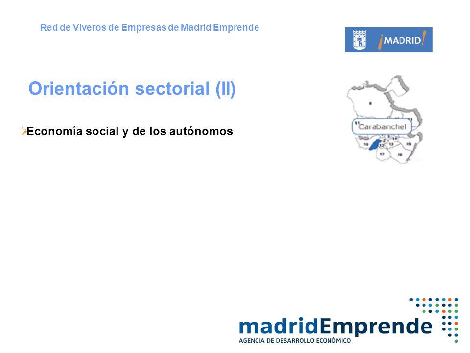 Orientación sectorial (II)