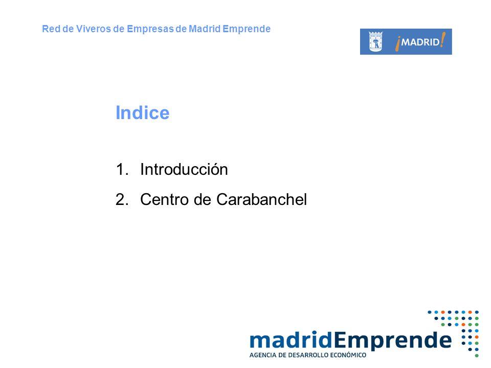 Indice Introducción Centro de Carabanchel