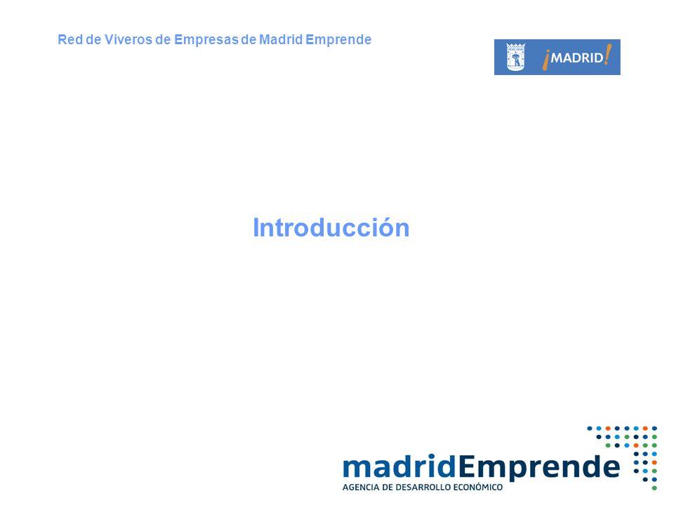 Red de Viveros de Empresas de Madrid Emprende