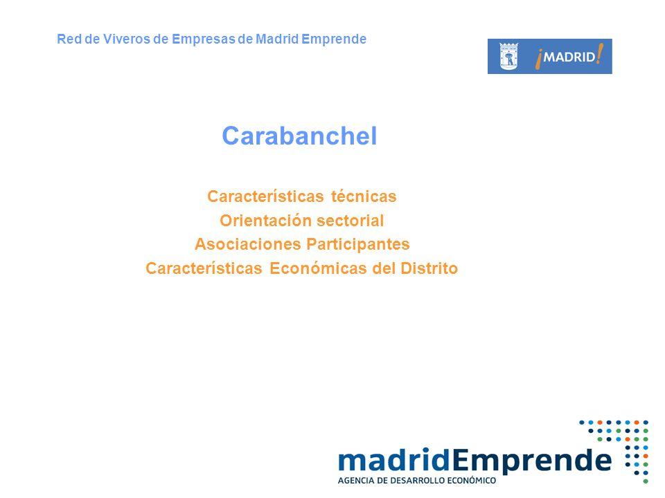 Carabanchel Características técnicas Orientación sectorial